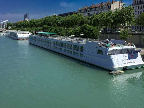 Refurbished in 2015, the MS Camargue accommodates just 104 passengers and sails from Lyon along the Rhone and Saone rivers. Photo: Mark Sissons, Special To The Chronicle