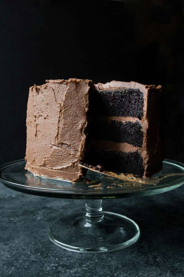 One-Bowl Devil's Food Layer Cake With Milk Chocolate Frosting Photo: Jennifer Chase / For The Washington Post