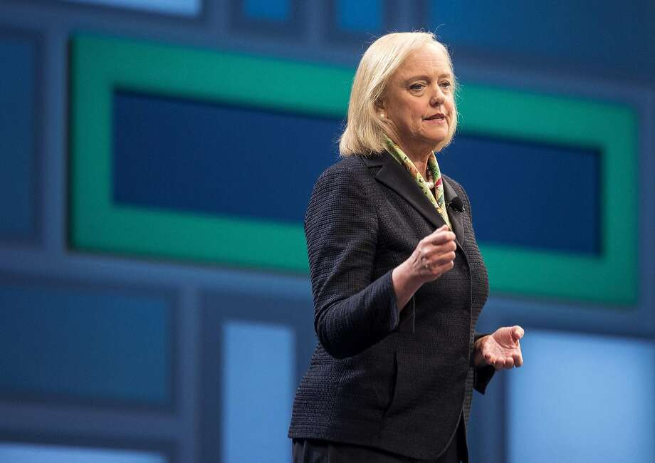 Meg Whitman, seen here in June 2016, stepped down as chairman and left the board of HP Inc. Whitman has been mentioned as a candidate to fill the top role at Uber Technologies Inc., the ride-hailing mobile-app company that ousted founder Travis Kalanick last month. MUST CREDIT: Bloomberg photo byJacob Kepler Photo: Jacob Kepler, Bloomberg