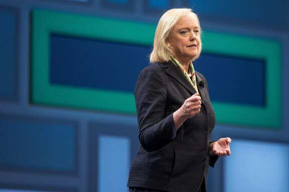 Meg Whitman, seen here in June 2016, stepped down as chairman and left the board of HP Inc. Whitman has been mentioned as a candidate to fill the top role at Uber Technologies Inc., the ride-hailing mobile-app company that ousted founder Travis Kalanick last month. MUST CREDIT: Bloomberg photo byJacob Kepler