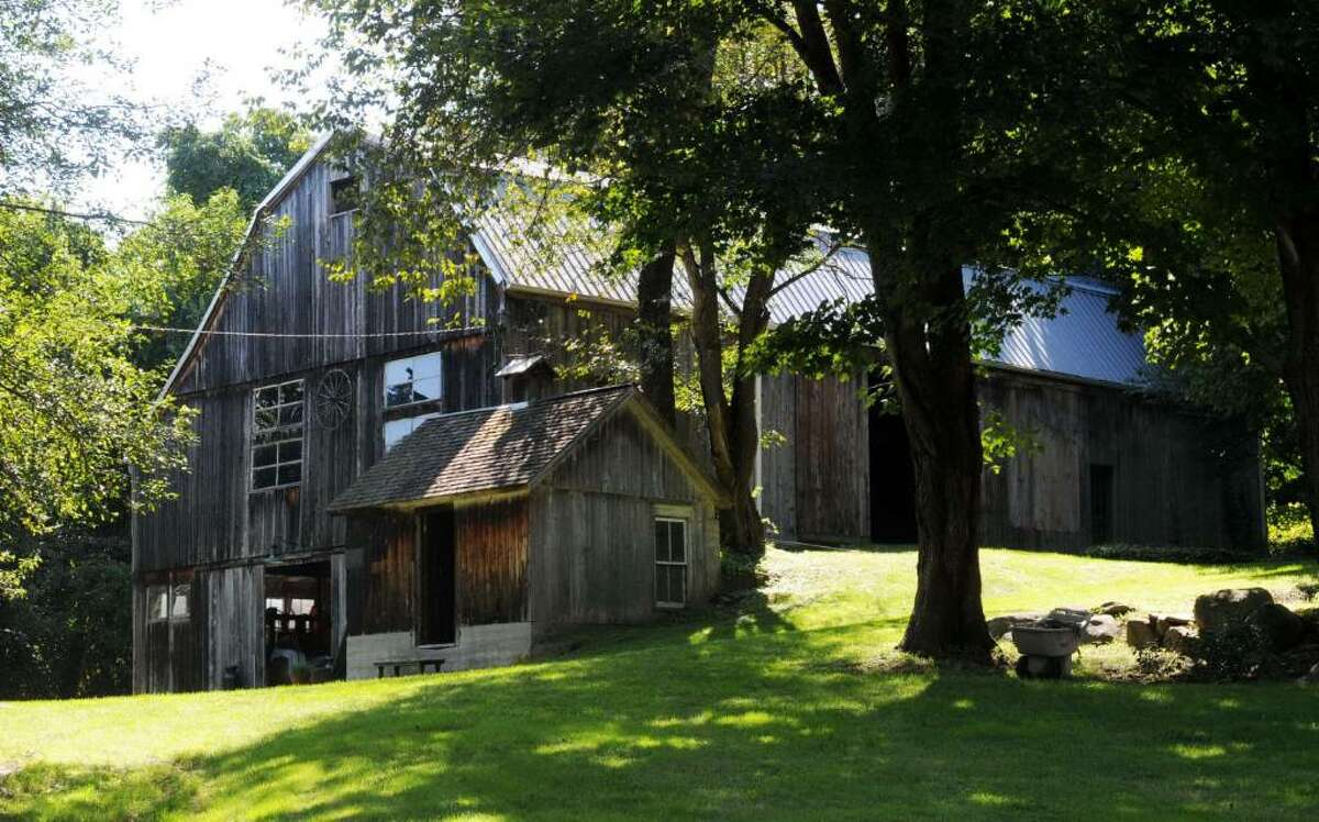 A barn on Old Town Park Rd., in New Milford, CT on Tuesday, Sept. 1, 2009. The barn is believed to have been a stop for slaves escaping to freedom in the north.
