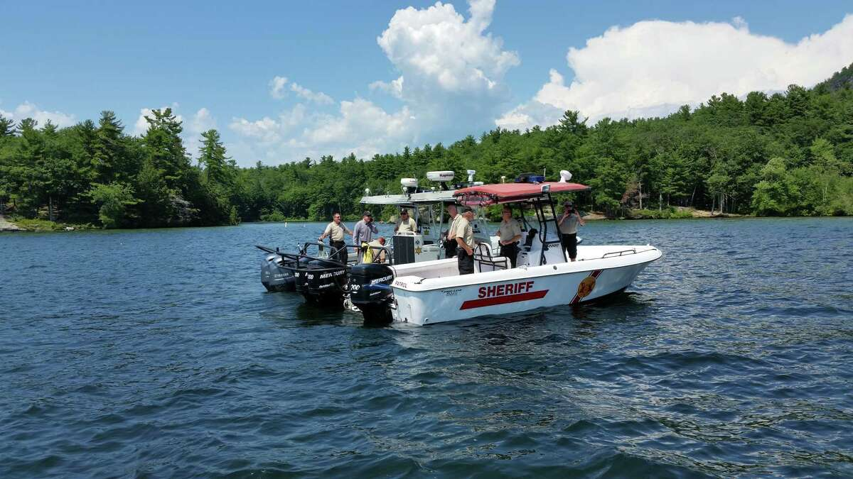 Dozens of other officials mounted a land, air and waterborne effort all around Lake George on Monday, July 31, 2017, to make sure the now-infamous Log Bay Day would not be revived by diehard fans a year after a reveler killed a young girl in a boating collision.