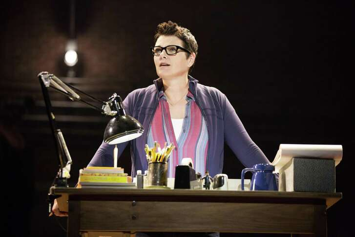 """Kate Shindle plays Alison as an adult in """"Fun Home,"""" which is coming to the Tobin Center for the Performing Arts."""