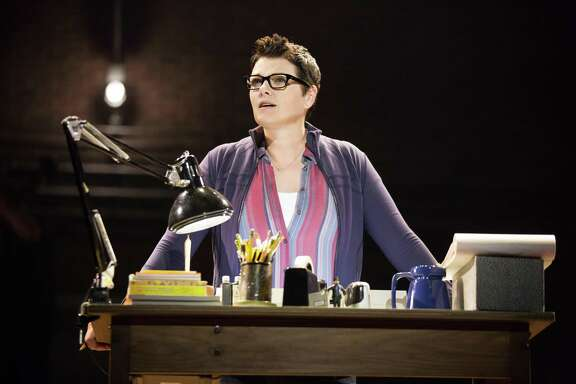 "Kate Shindle plays Alison as an adult in ""Fun Home,"" which is coming to the Tobin Center for the Performing Arts."