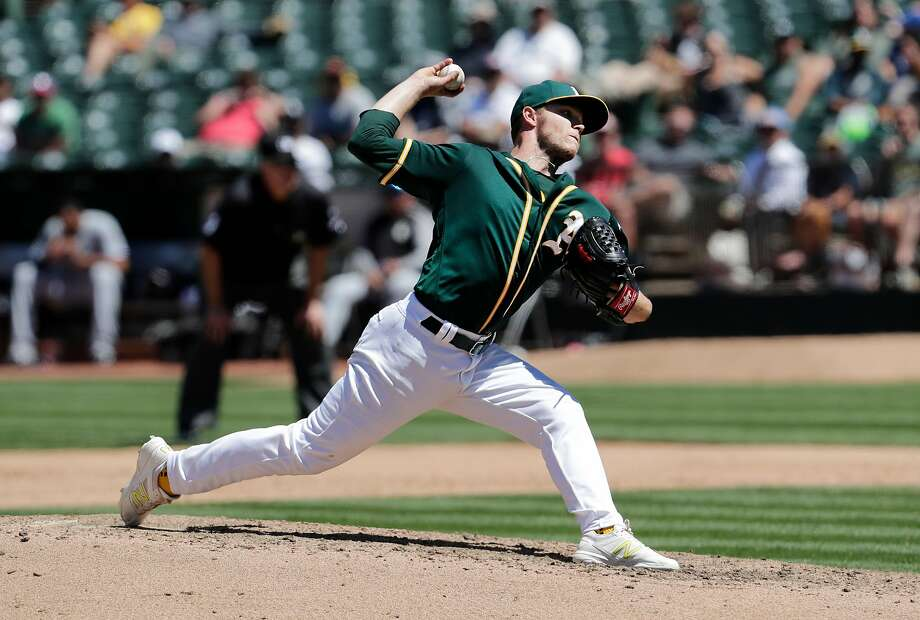 Sonny Gray, from small-town Smyrna, Tenn. (population about 49,000), heads to the spotlight in New York after being traded. But his ex-boss with the A's, Billy Beane, doesn't see a problem. Photo: Michael Macor, The Chronicle