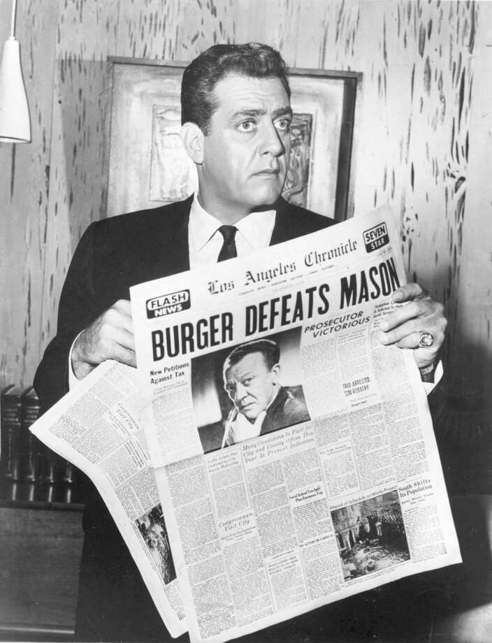 On television, defense attorney Perry Mason (played by Raymond Burr) won the majority of his cases. An exception was this one. In fact, our adversarial system of justice emphasizes winning cases over truth. Photo: / / handout