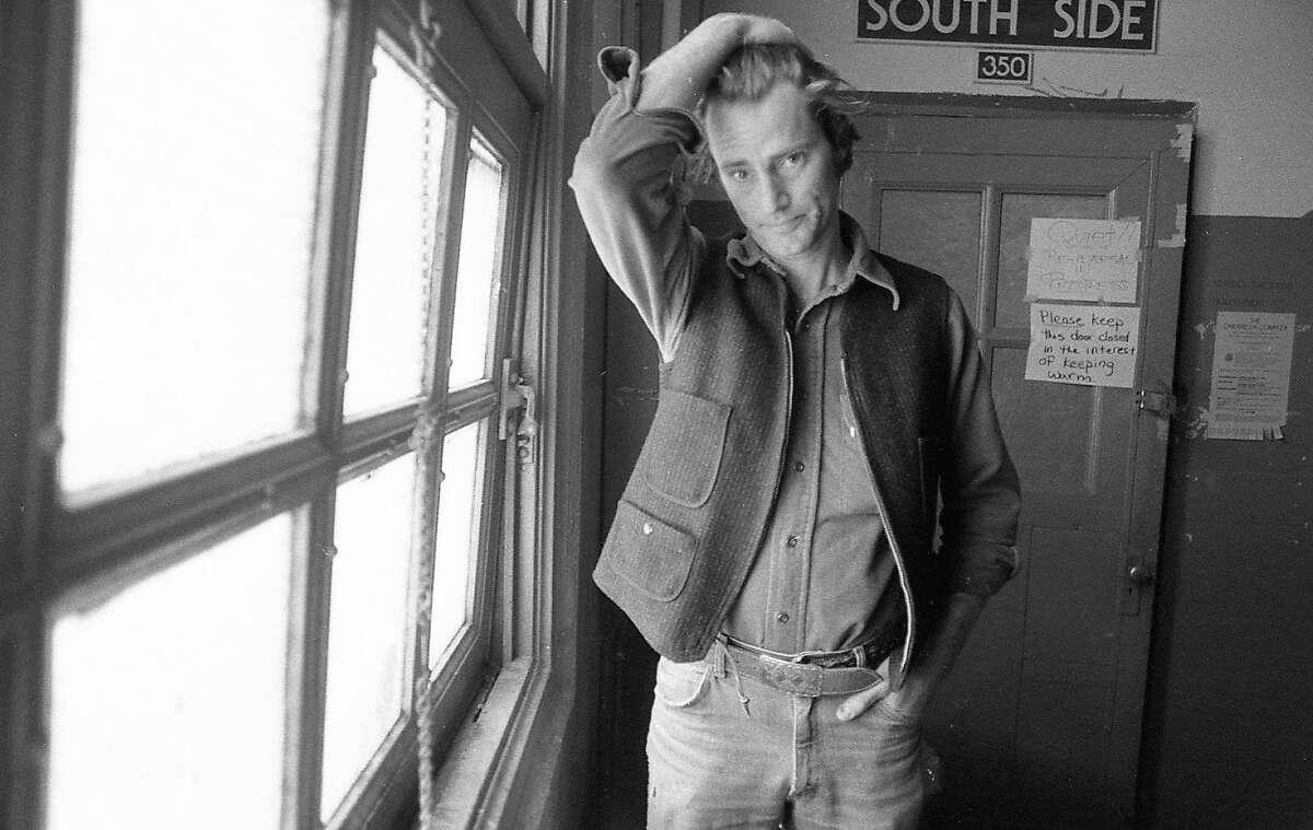 Playwright Sam Shepard in a Feb. 2, 1983 photo.
