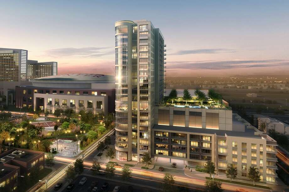 Camden Property Trust plans to begin construction on a downtown residential tower late this year. The project had previously been delayed as the market slumped. Photo: Ziegler Cooper