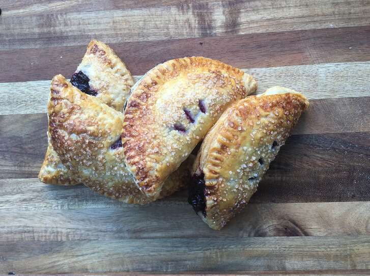 Jessica Battulana's Blueberry Hand Pies are seen on Tuesday, July 25, 2017.