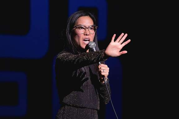 AUSTIN, TX - APRIL 21: Comedian Ali Wong performs onstage during the Moontower Comedy Festival at The Paramount Theatre on April 21, 2017 in Austin, Texas.