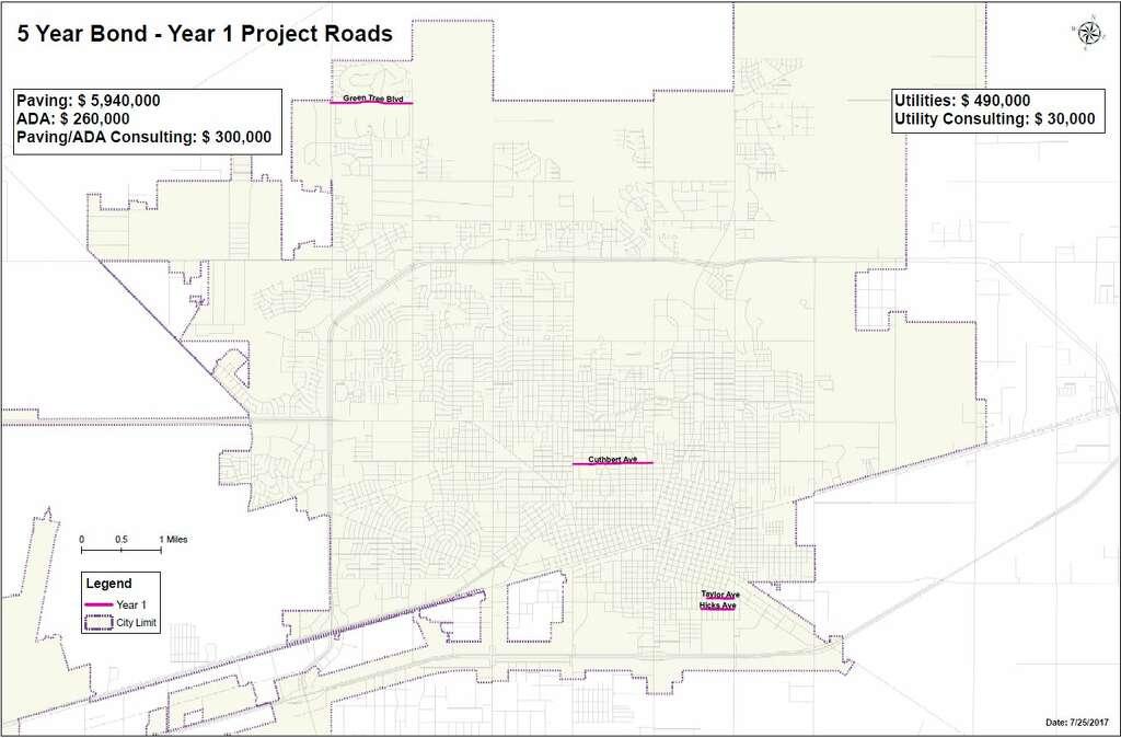 Council votes to put 100M road bond on ballot  Midland Reporter