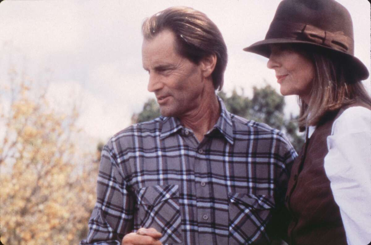 THE ONLY THRILL - Sam Shepard, Diane Keaton. HOUCHRON CAPTION (02/08/1998): Diane Keaton and Sam Shepard in