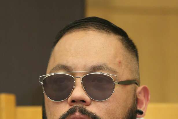 MEXICO CITY, MEXICO - MAY 19:  A.B. Quintanilla of Kumbia All Starz attends a press conference to promote their new tour at Hotel Camino Real on May 19, 2015 in Mexico City, Mexico.  (Photo by Victor Chavez/WireImage)