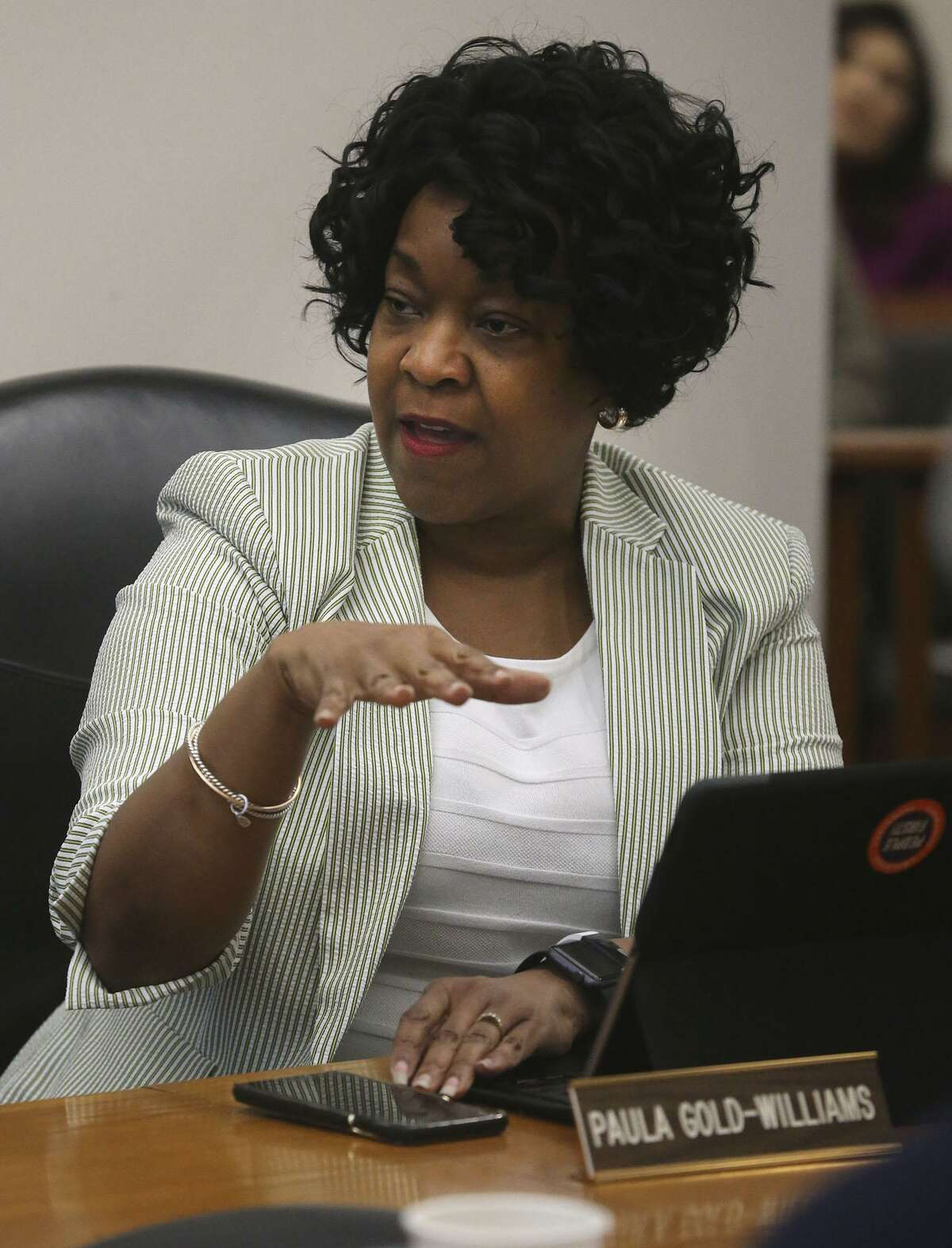 CPS Energy President and CEO Paula Gold-Williams said at a recent meeting any downward changes to CPS' credit rating would cost it more in interest.