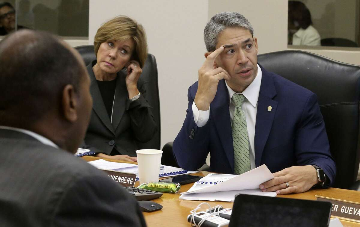 Mayor Ron Nirenberg (seen in 2017) warned recently that amending the city charter could hurt CPS Energy's rating.