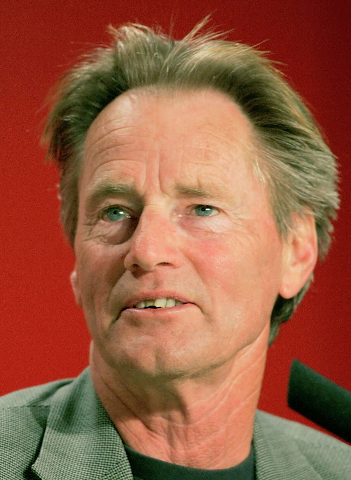 FILE - In this May 19, 2005 file photo, Sam Shepard attends a press conference at the Cannes film festival in Cannes, southern France. Shepard, the Pulitzer Prize-winning playwright and Oscar-nominated actor, died of complications from ALS, Thursday, July 27, 2017, at his home in Kentucky. He was 73. (AP Photo/Laurent Emmanuel, File) ORG XMIT: NYET101