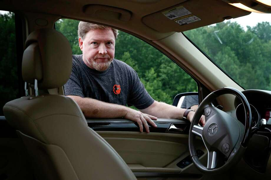 John Carroll of Bel Air, Md., has a 2010 Mercedes-Benz ML 350 sport utility vehicle, which contains a driver's side Takata air bag inflator that has been recalled. Carroll is waiting for parts to replace the inflator. Photo: Patrick Semansky, STF / Copyright 2017 The Associated Press. All rights reserved.