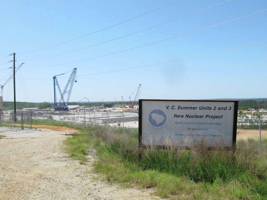 Construction of the two nuclear reactors at the V.C. Summer Nuclear Station in Jenkinsville, S.C., was well underway in 2012, but the companies backing the project have halted work because the project no longer appears economical. Photo: Jeffrey Collins, STF / Copyright 2017 The Associated Press. All rights reserved.