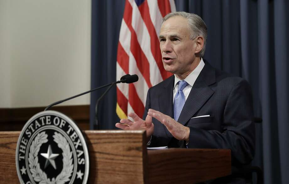 """Texas Gov. Greg Abbott announces that there will be a special session of the Texas Legislature, Tuesday, June 6, 2017, in Austin, Texas. With the special session, beginning July 18, Gov. Abbott is reviving a so-called """"bathroom bill"""" targeting transgender people after the last try ended with Republican lawmakers angry and deadlocked. (AP Photo/Eric Gay) Photo: Eric Gay, Associated Press"""