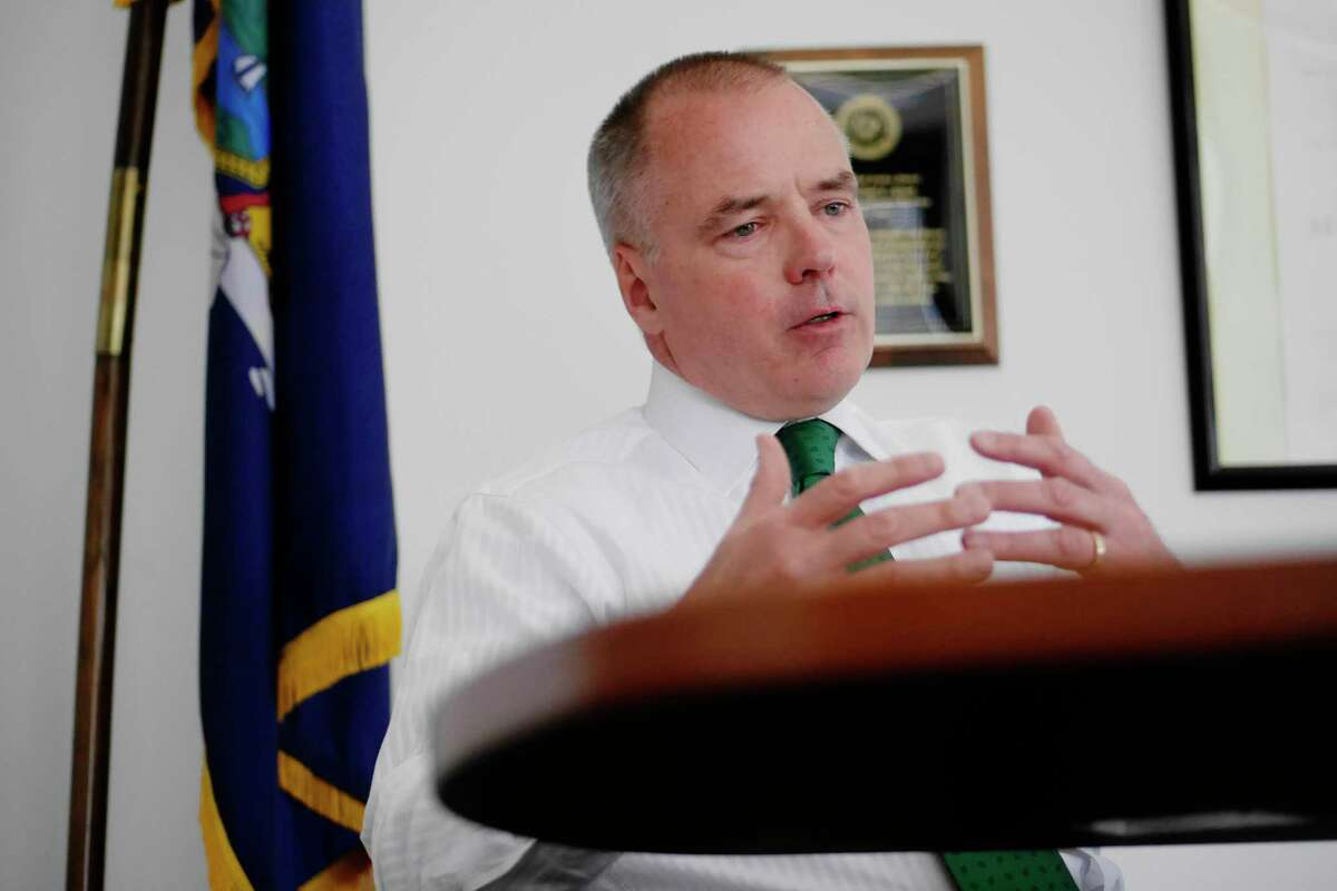 Michael Green, executive deputy commissioner of the state Division of Criminal Justice Services, interrogated then fired a female special counsel who testified in a sexual harassment investigation conducted by the state Inspector General's office. (Paul Buckowski / Times Union)