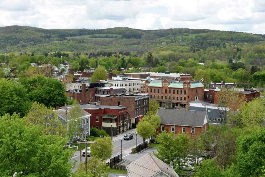 View of Hoosick Falls on Wednesday, May, 10, 2017, in Hoosick Falls, N.Y. (Will Waldron/Times Union) Photo: Will Waldron
