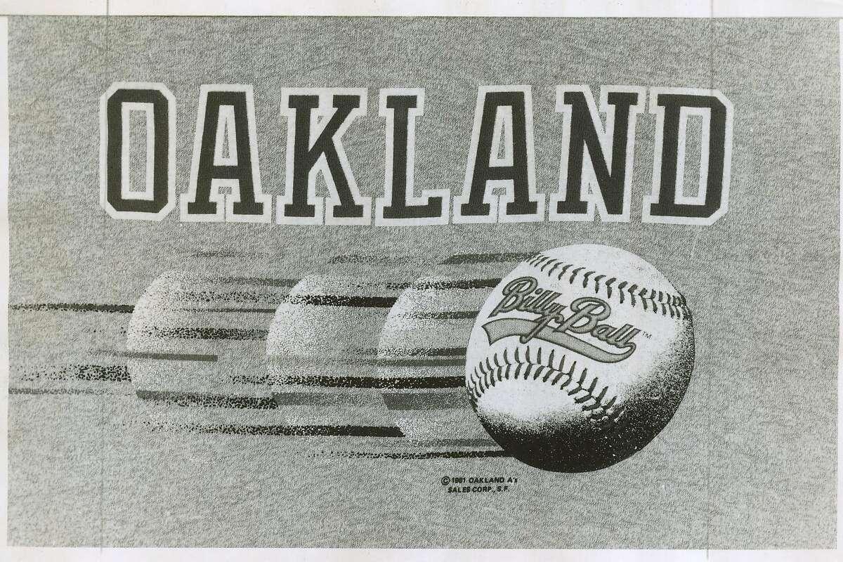as19_1981-40.jpg 1981 Oakland Athletics Bill Ball Logo from the 1981 season