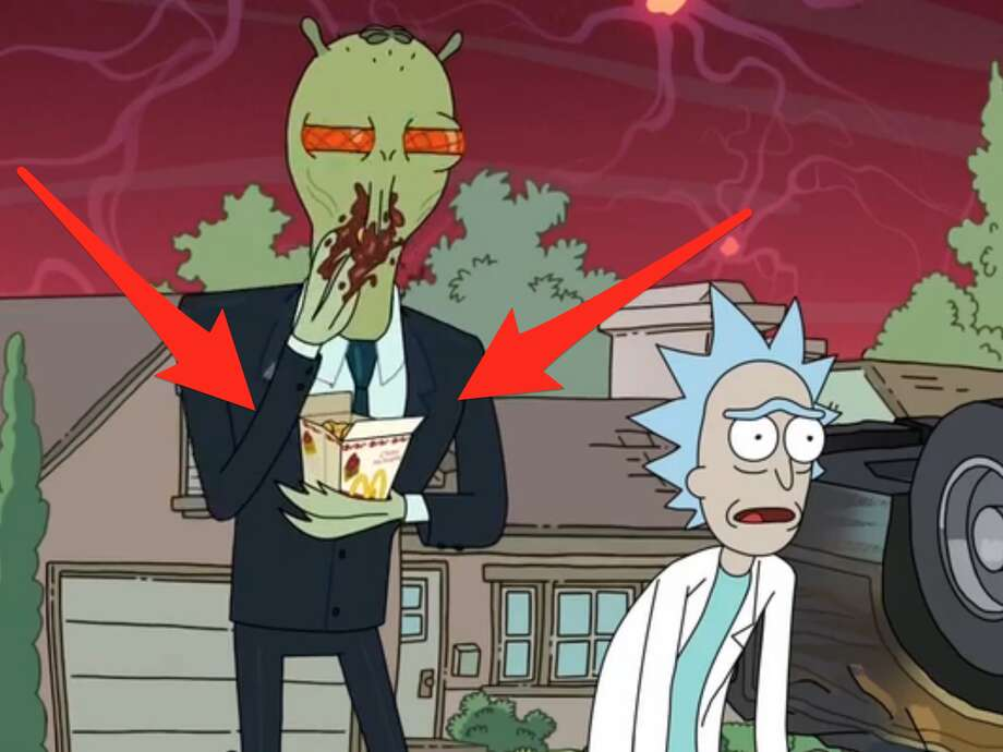 "An episode of ""Rick and Morty"" ended with a plea for McDonald's to bring back its Szechuan McNugget sauce, and the company obliged, but many locations only stocked a few dozen packets of sauce, fans complained on Twitter. Click through the gallery for outraged reactions. Photo: Adult Swim"