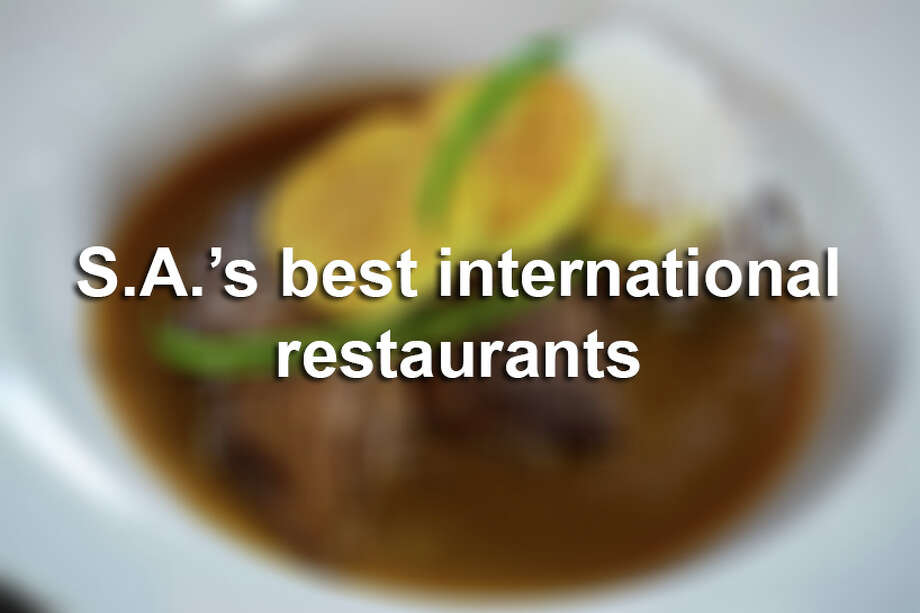 Click through to see the best-rated international spots from the Express-News' 2017 Top 100 Dining & Drinks' guide. Photo: SAEN