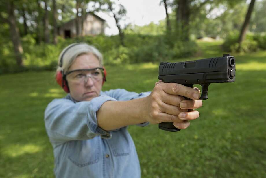 A mom gives advice on the best tips for gun safety. Photo: Steve Smith, Getty Images/Blend Images