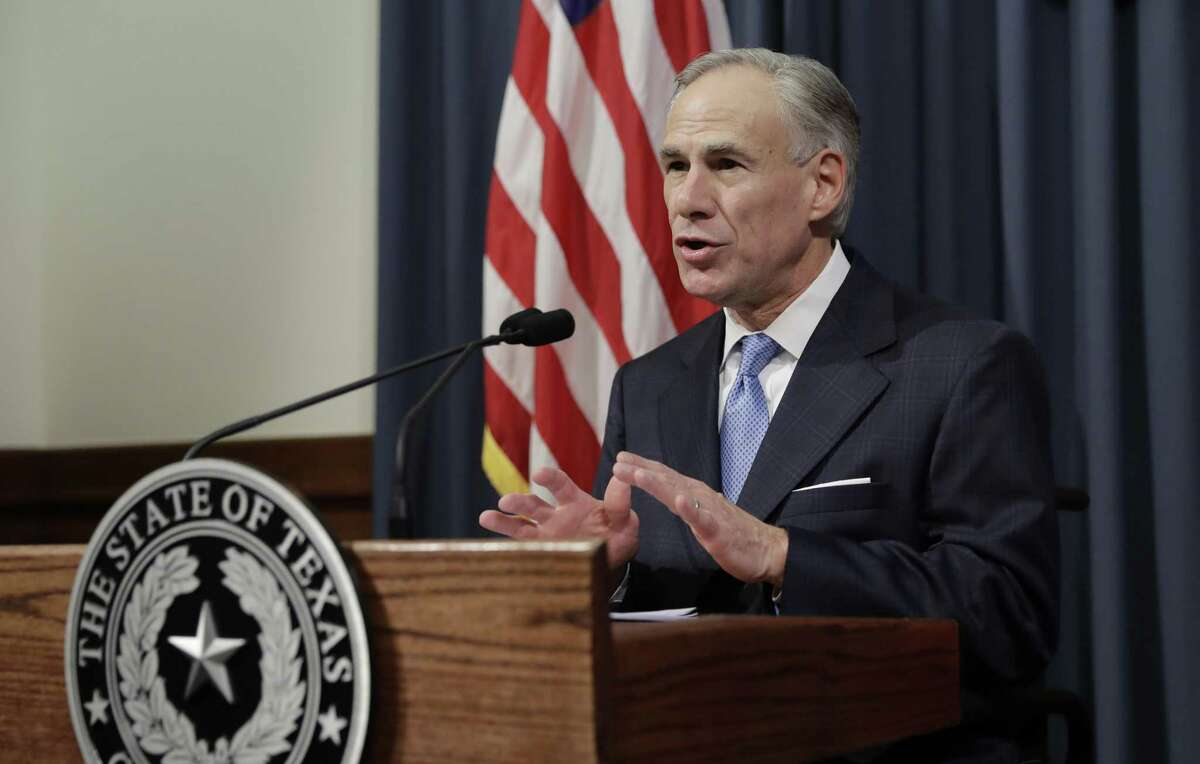 """Texas Gov. Greg Abbott announces that there will be a special session of the Texas Legislature, Tuesday, June 6, 2017, in Austin, Texas. With the special session, beginning July 18, Gov. Abbott is reviving a so-called """"bathroom bill"""" targeting transgender people after the last try ended with Republican lawmakers angry and deadlocked. (AP Photo/Eric Gay)"""