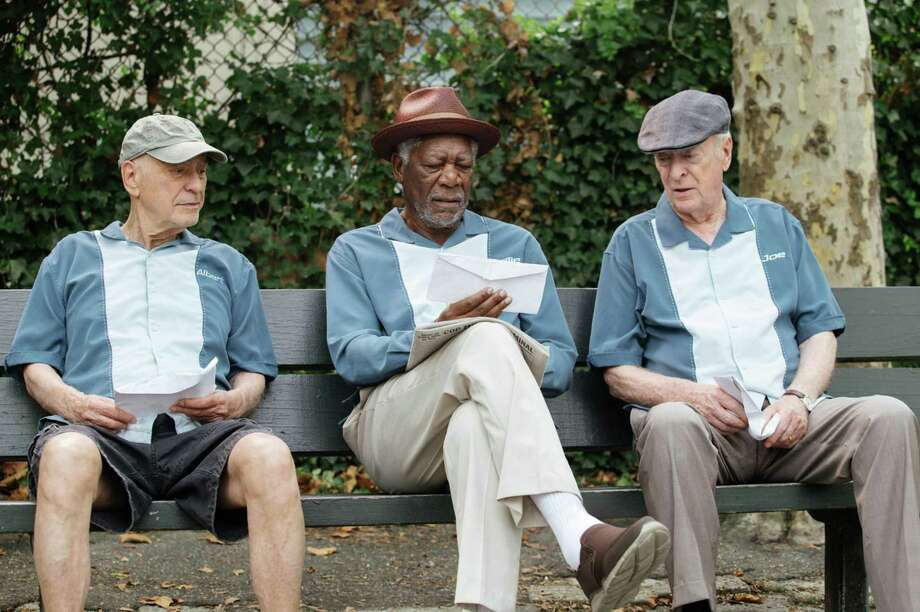"""Morgan Freeman, Alan Arkin, and Michael Caine star in """"Going in Style."""" Photo: Warner Bros. Entertainment / TNS"""