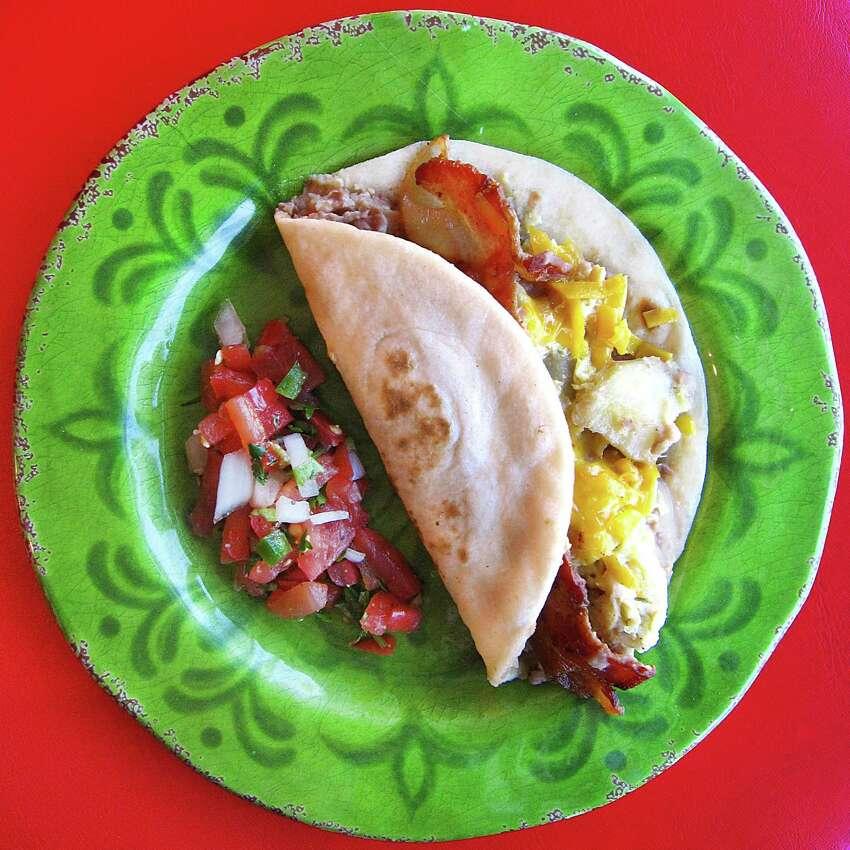 Best Breakfast TacoPepe's Tacos N Salsa 12820 Jones Maltsberger Road Runners-Up: Mama Margie's Mexican Cafe The Original Donut Shop