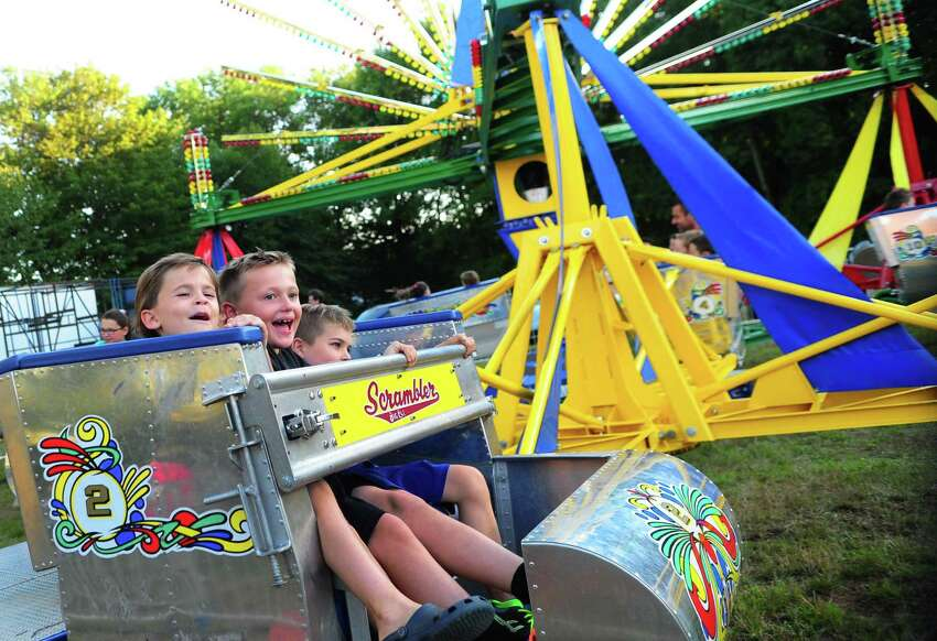 The Easton Volunteer Fire Co. will hold its 76th annual carnival from Tuesday, August 1, through Saturday, August 5, 2017, from 6 p.m. to 11 p.m. It features a range of amusement rides and games, bingo as well as foods like burgers and hot dogs and plenty of sweet treats. This is a scene from last year's event.