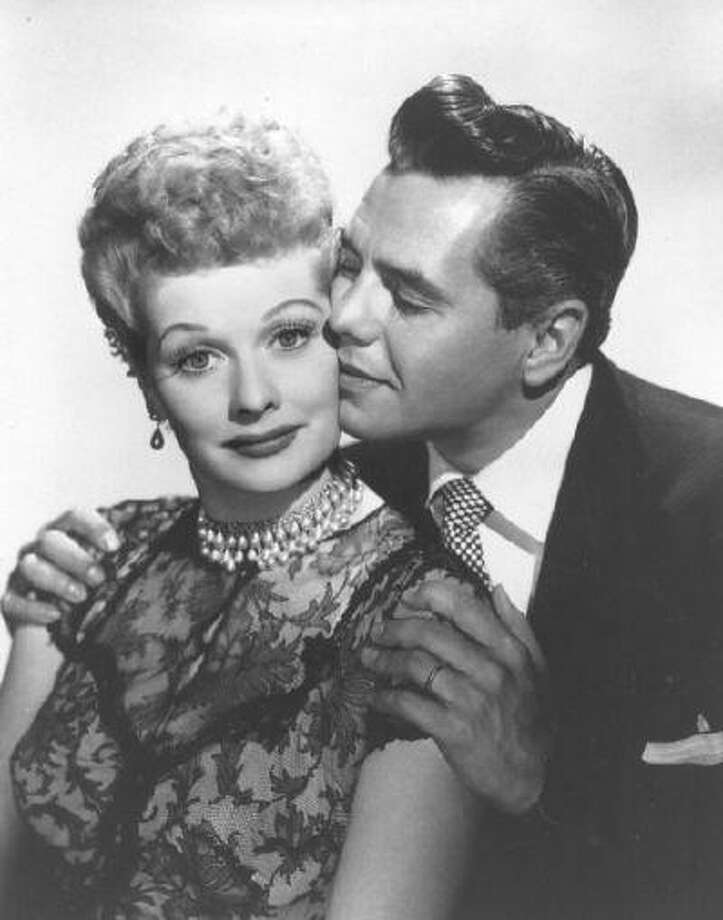 "Actors Lucille Ball and Desi Arnaz: They were pure comedic gold on ""I Love Lucy,"" one of the most popular TV shows of all time. The pair also jointly owned and ran the successful Desilu studio. (AP Photo/file) Photo: AP / AP net"