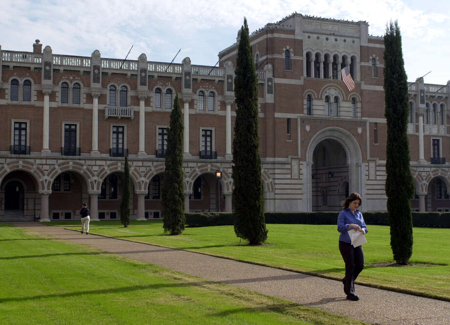 Rice University is consistently ranked among the top colleges in the country. Photo: PAT SULLIVAN/AP