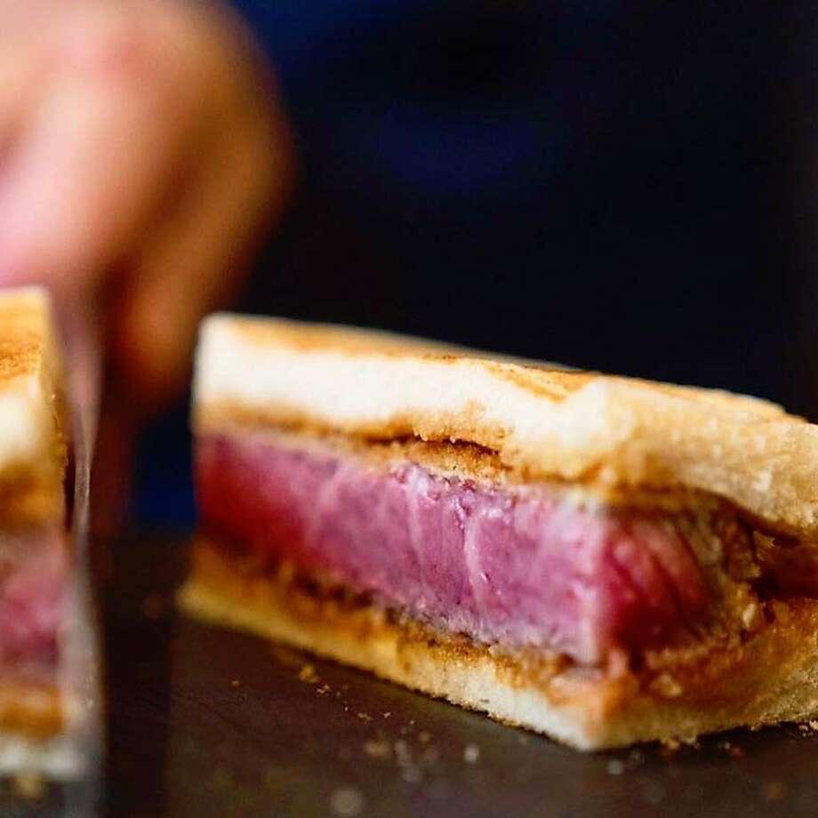 Wafyumafia, with its $180 wagyu beef sandwich, is looking to open in San Francisco. Photo: Wagyumafia Facebook