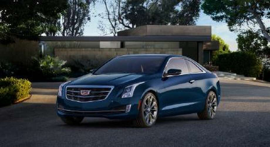 2015 Cadillac ATS Coupe.