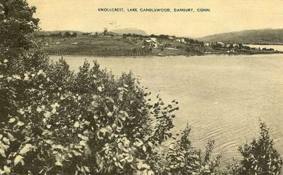 This image of Knollcrest in Danbury is undated, but must be from the 20th century since it shows Candlewood Lake, which was created in the early part of that century. Photo: Contributed Photo / The News-Times Contributed
