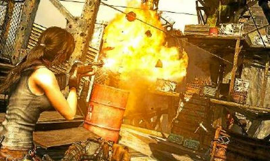 "A screenshot from ""Tomb Raider: Definitive Edition."""