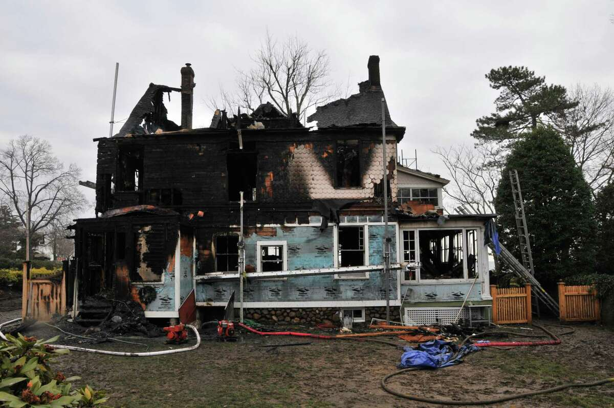 Police Department photos - Fire scene Rondano - investigation scene photos following the fatal fire at 2267 Shippan Ave. in Stamford, Conn. on Christmas morning Dec. 25, 2011. The home of Madonna Badger.
