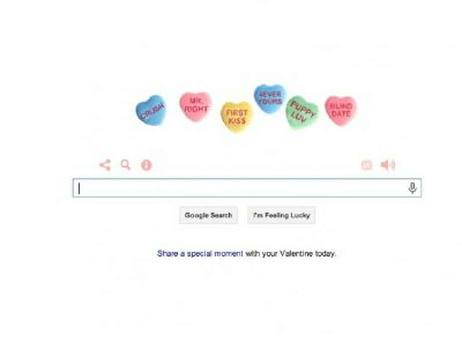 "Google's Valentine's Day 2014 doodle, which it produced in partnership with the public radio show ""This American Life."""