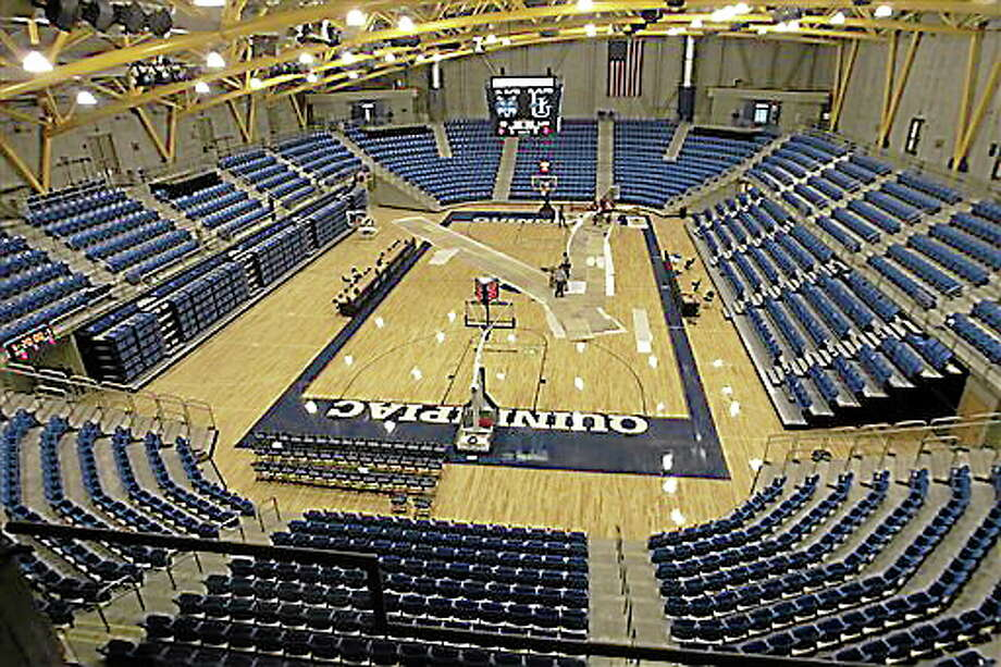 Quinnipiac's TD Bank Sports Center. Photo: The Associated Press File Photo   / AP2007