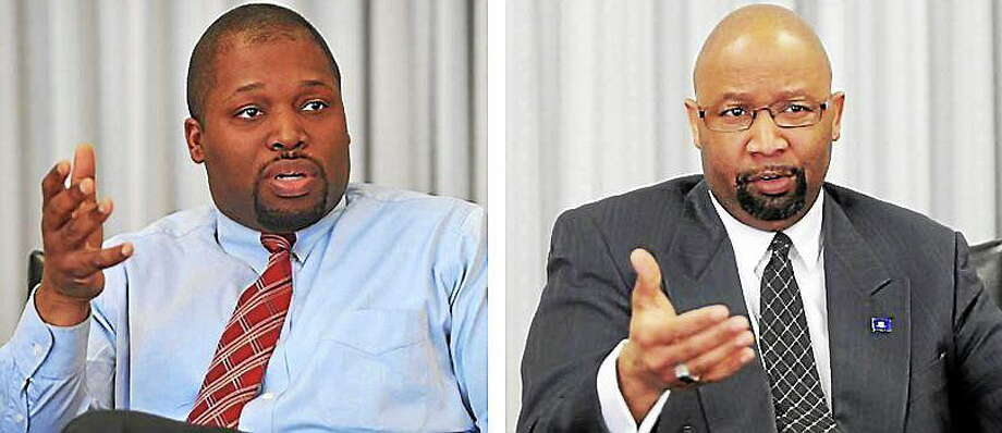State Rep. Gary Holder-Winfield, left, and Steven Mullins. Photo: Journal Register Co.