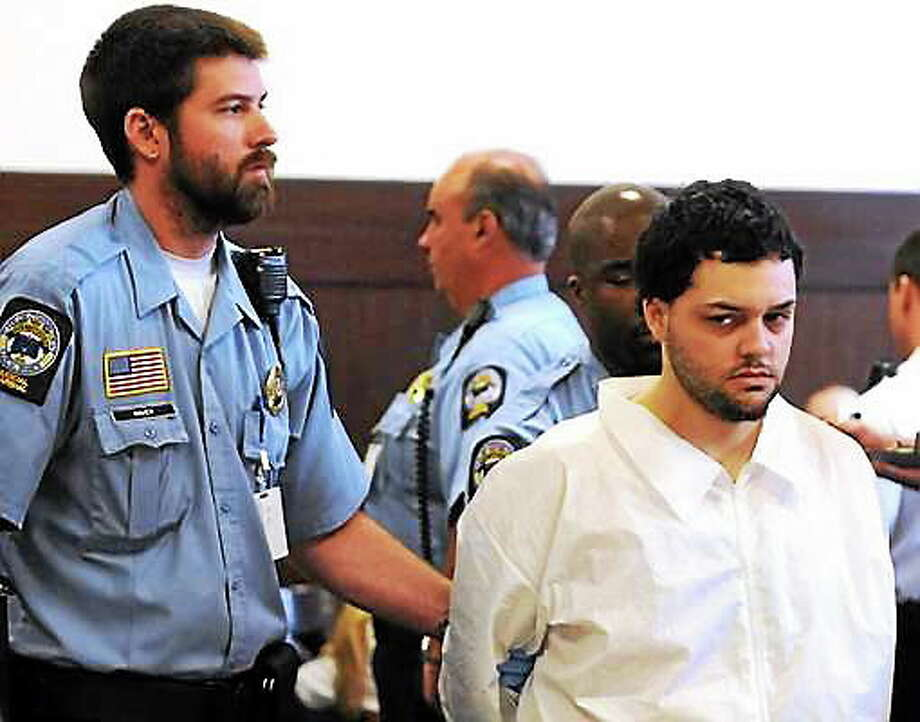 In this 2012 file photo, Josue Rivera is seen in Superior Court in New Haven. Rivera was found guilty of first-degree manslaughter Wednesday in the stabbing death of Anthony Pesapane. Photo: Peter Hvizdak — New Haven Register