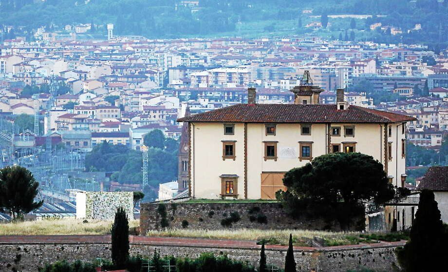 A view of the Forte Belvedere in Florence, Italy, Saturday, May 24, 2014. Kim Kardashian and Kanye West will wed and host a reception at Florence's imposing 16th-century Belvedere Fort on May 24, according to a spokeswoman at the Florence mayor's office. Photo: AP Photo/Gregorio Borgia   / AP