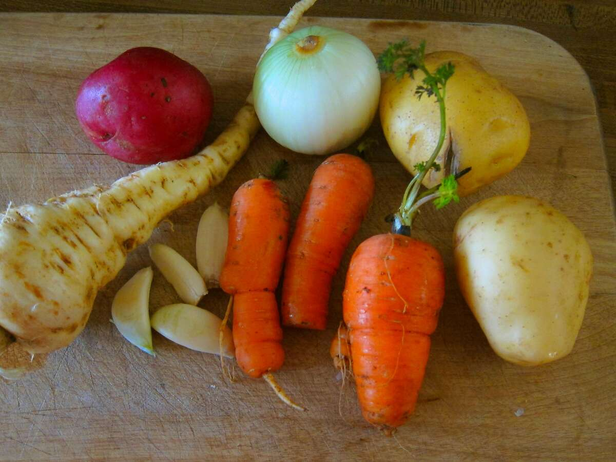 Many root crops lend themselves to roasting. Photo: Pam Peirce
