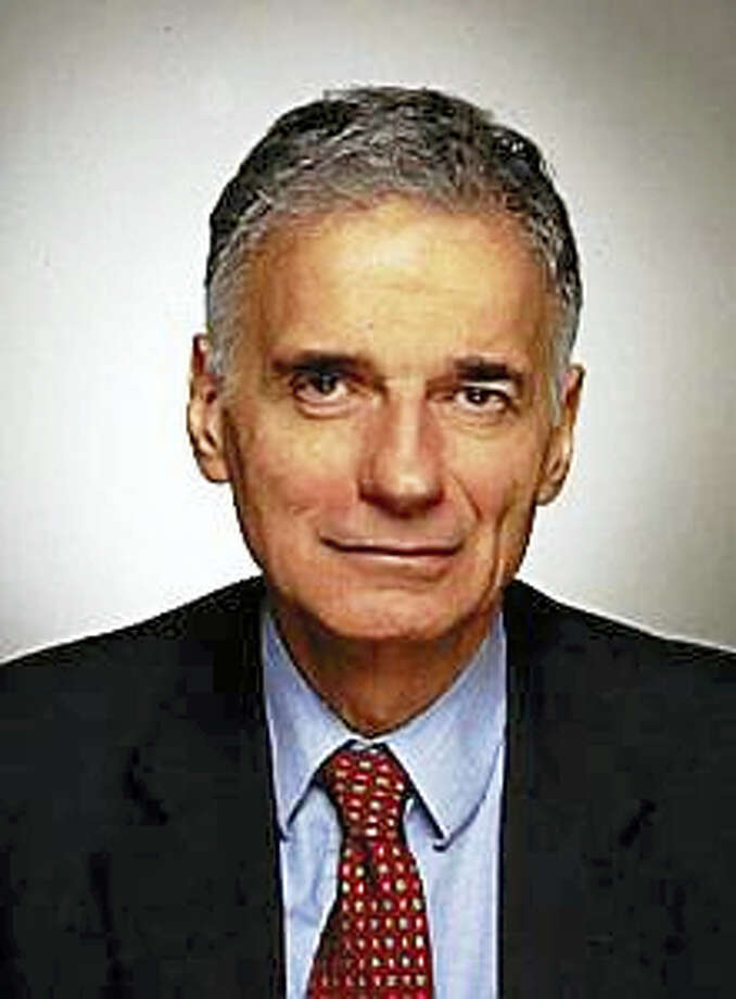 Ralph Nader Photo: Journal Register Co.
