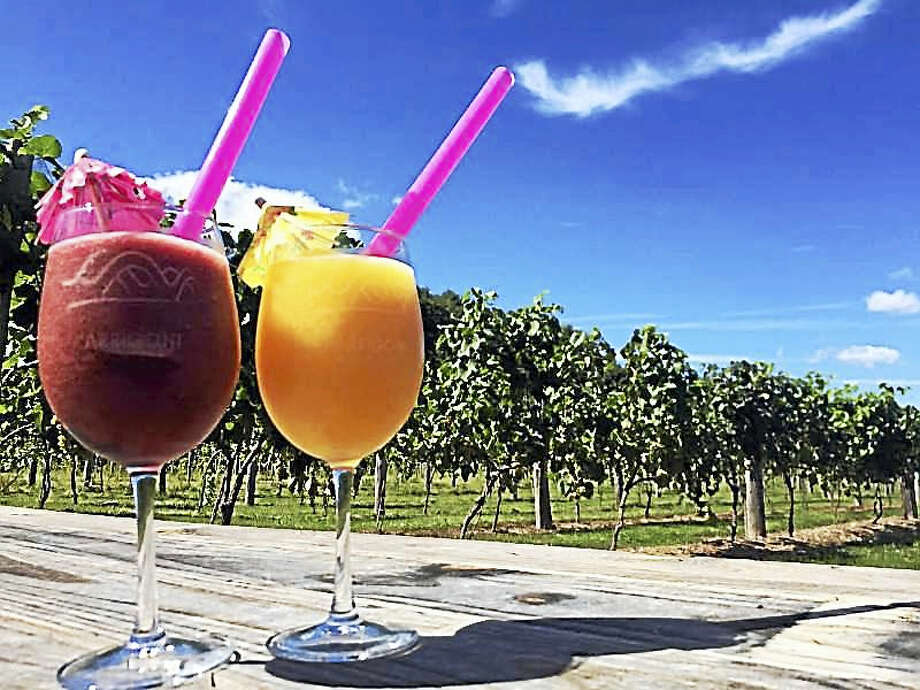 Mango madness and blackberry sangria slushies will be served today at Arrigoni Winery in Portland as Ben Kane performs. Photo: Contributed