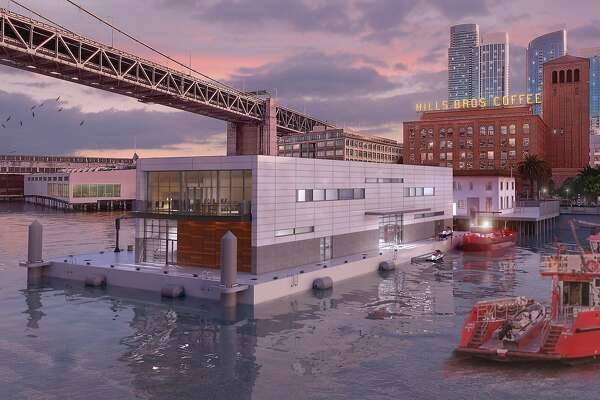 Fireboats' new Embarcadero station may be a floating pier