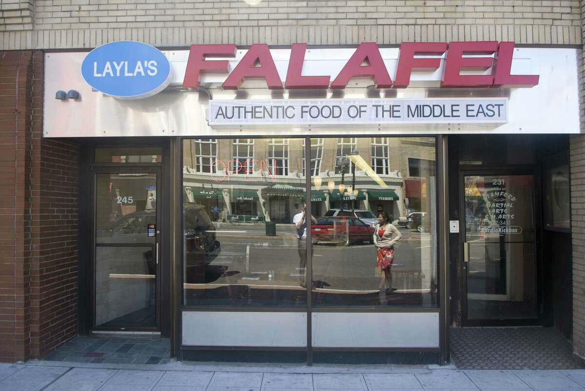 Stamford and state health officials are investigating food poisoning complaints from at least five people who ate last week at Layla's Falafel on Main Street.